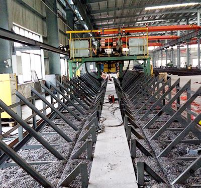 汉工钢构设备-门型自动埋弧焊机