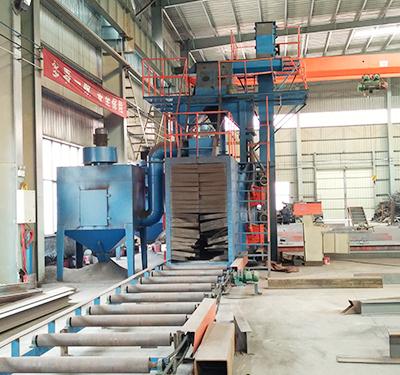 汉工钢构设备-抛丸机