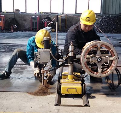 汉工钢构设备-产品加工