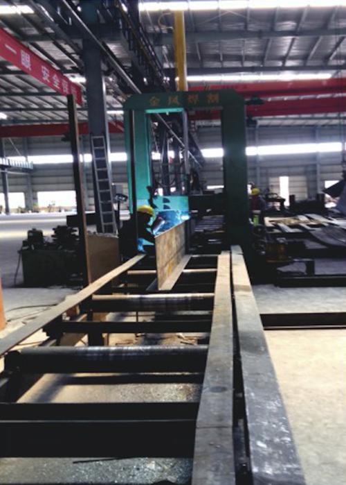 汉工钢构设备-组立机