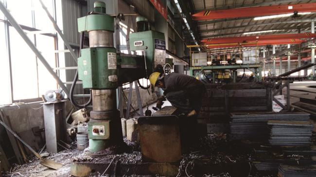 汉工钢构生产设备-钻床