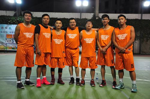 汉工钢构参加云南省首届勘察设计杯篮球赛开幕式及比赛