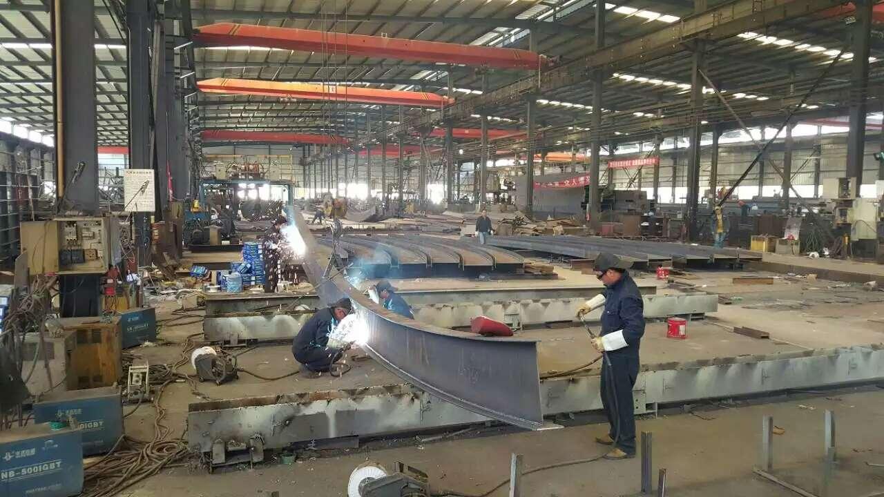 云南钢结构加工中预防焊接变形的方法