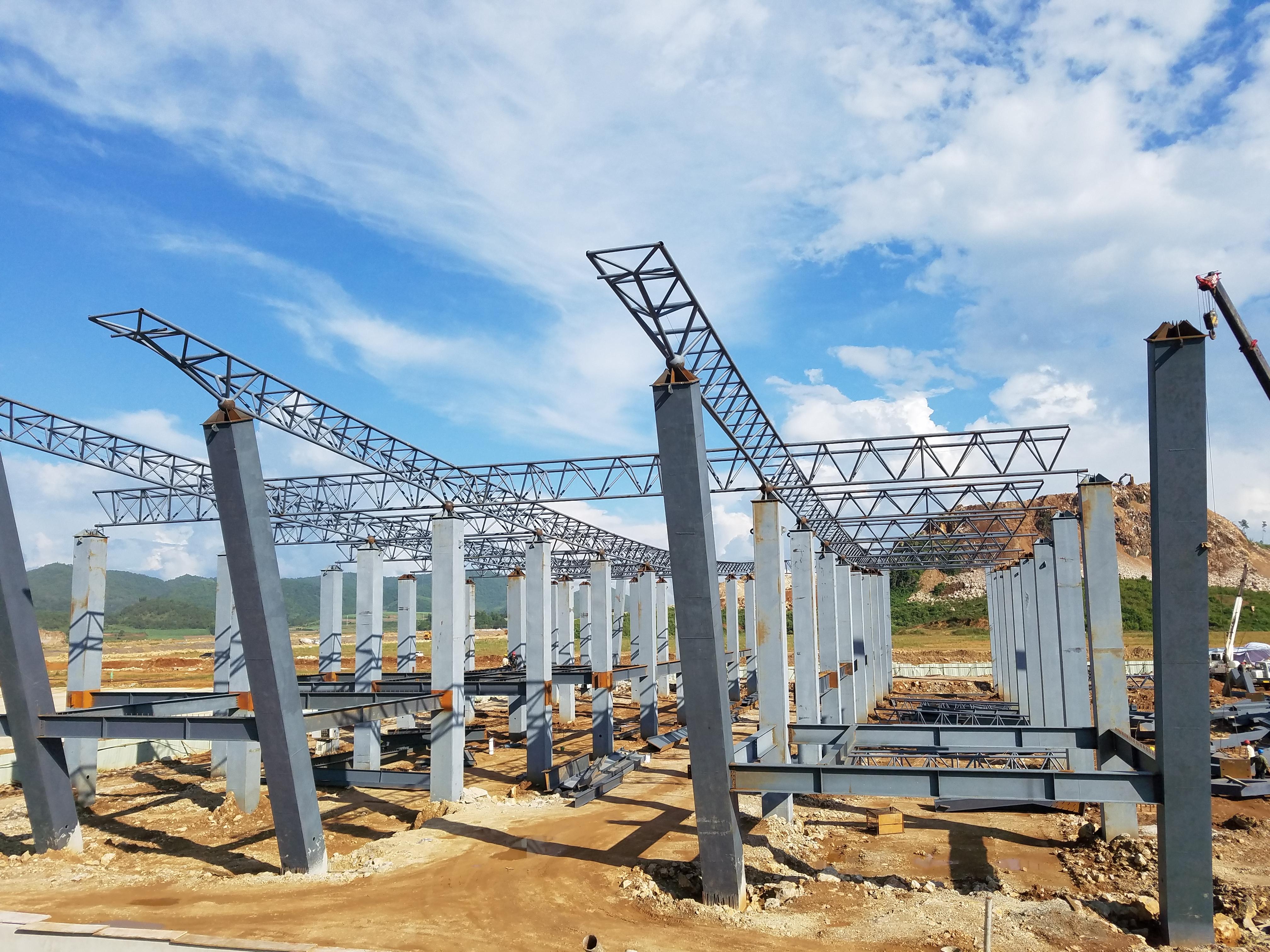 云南钢结构工程施工注意事项
